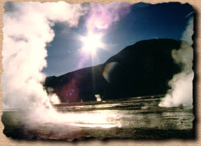 Geiser de Tatio - Chile Homepage