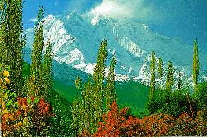 Hunza Valley and Rakaposhi