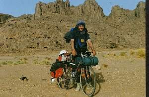 On the outskirts of Tassili n Ajjer
